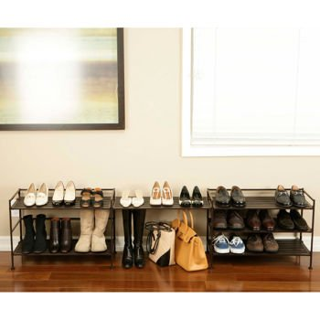 Closet Shoe Rack Storage Organizer Shelf Unit to Clean up and Organize Your Home or Office