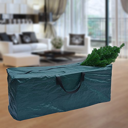 Artificial Christmas Tree Storage Bag For Up to 8ft Tree (Disassembled Tree Green