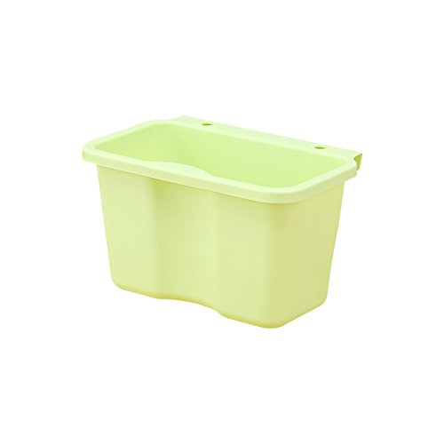 Dustbins Xiuxiutian Plastic WALL MOUNTED KITCHEN bathroom storage bins barrels 21135125cm yellow