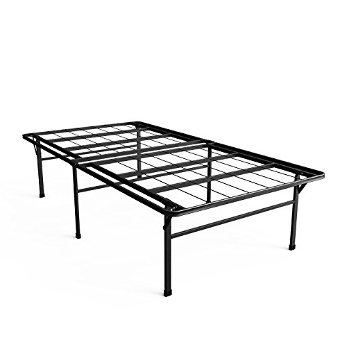 Zinus 18 Inch Premium SmartBase Mattress Foundation  4 Extra Inches high for Under-bed Storage  Platform Bed Frame  Box Spring Replacement  Strong  Sturdy  Quiet Noise-Free Twin