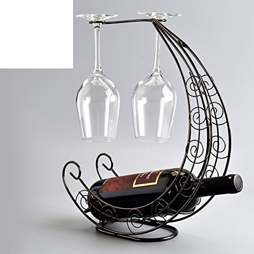Creative fashion wine rackEuropean wine cup holderCorsair goblets rackDecoration-H
