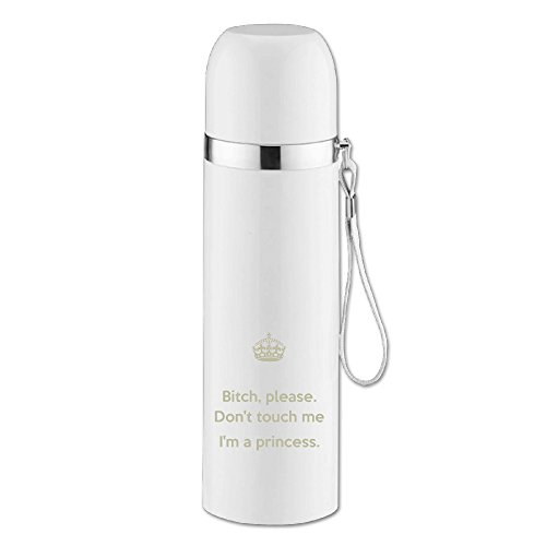 Im A Princess Vacuum Bottle Vacuum Thermos Bottle Travel Mug For Student Men Women Couple 12 Ounce Stainless Steel Thermos Bottle