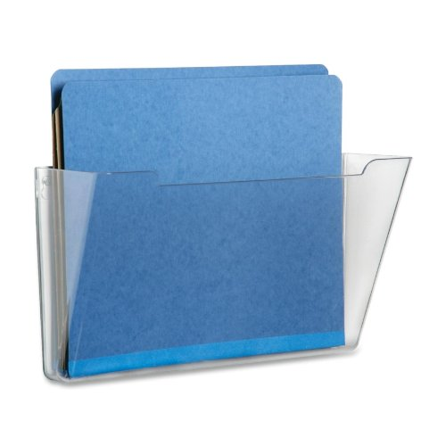 149 Height x 133 Width x 4 Depth Clear SKILCRAFT Vertical Wall Hanging File 1 Each -BOS-NSN5827273