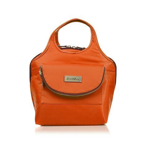 Samantha Brown Cooler Lunch Tote with Containers - Koi Orange by Samantha Brown