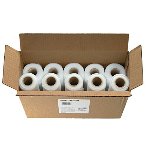"Seal a Meal Bulk Roll Combo 10- Pack 8"" and 11"" Rolls for FoodSaver Vacuum Sealers"