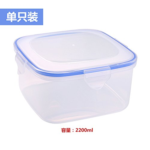 Luckyfree Lunch Boxs Plastic Bento Box For Students Adults Children Picnic Food Container Crisper Set Microwave Oven Refrigerator Storage Boxsquare