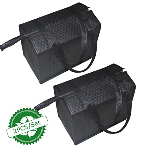 BAGHOME 2PCS Insulated Shopping BagInsulated Grocery BagGrocery Cooler bag