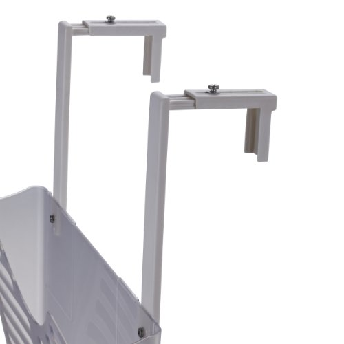 Officemate Partition Hanger for Unbreakable Wall Files LetterLegal White PR 21684