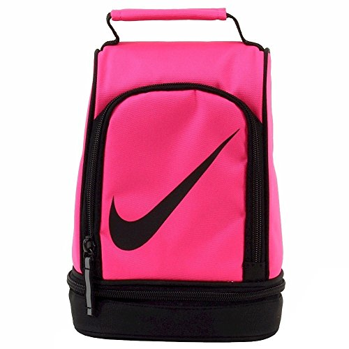 Nike Contrast Hyper Pink Insulated Tote Lunch Bag