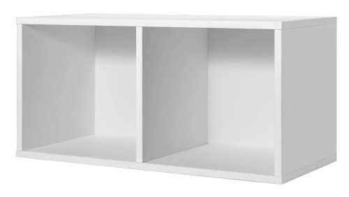 Foremost 327801 Modular Large Divided Cube Storage System White