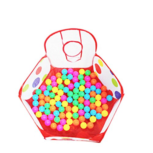 ULAKY Kids Ball Play Pool Storage Bag Kids Toy Play Tent Indoor and Outdoor