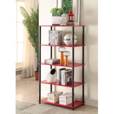 Mainstays No Tools Assembly 8-Cube Shelving Storage Unit Multiple Colors Red
