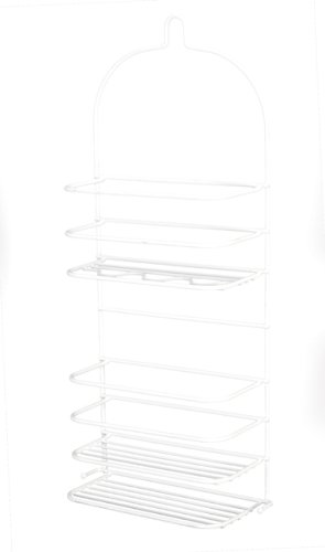 Grayline 41177 3 Shelf Extra Large Shower Caddy White